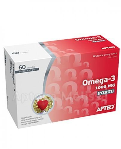 APTEO OMEGA-3 FORTE 1000 mg - 60 kaps.  - Apteka internetowa Melissa