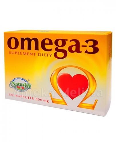 NATURELL OMEGA-3 Olej z łososia - 120 kaps.