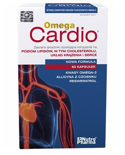 OMEGA CARDIO + CZOSNEK - 60 kaps. - Drogeria Melissa