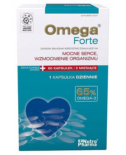 OMEGA FORTE 65% Omega-3 - 60 kaps. - Apteka internetowa Melissa