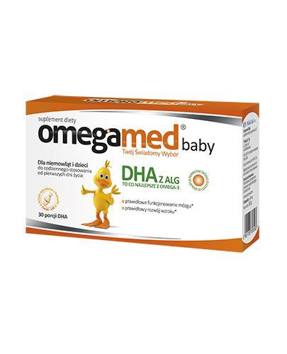OMEGAMED baby DHA - Dla niemowląt i dzieci - 30 kaps. - Drogeria Melissa