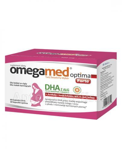 Omegamed Optima Forte dla kobiet w ciąży - Apteka internetowa Melissa