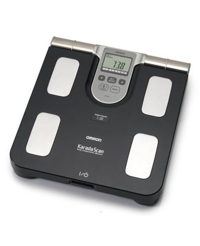 OMRON Waga z analizatorem składu ciała BF508 kolor czarny - 1 szt. - cena, opinie, właściwości