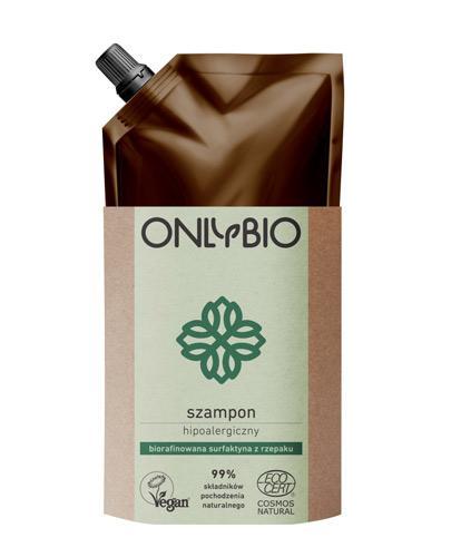 Onlybio Szampon hipoalergiczny, zapas - 500 ml - cena, opinie, właściwości