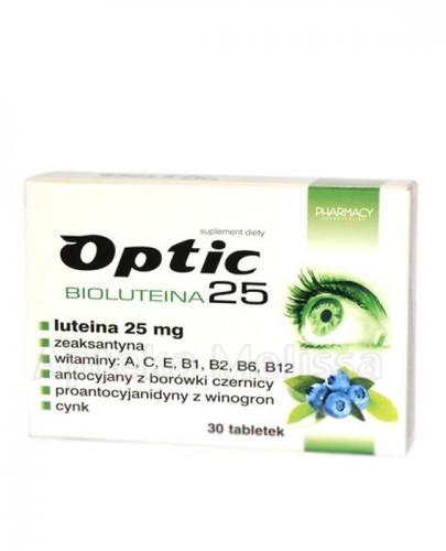 OPTIC BIOLUTEINA 25 - 30 tabl.