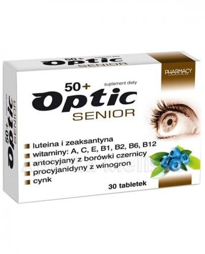OPTIC SENIOR - 30 tabl. - Apteka internetowa Melissa