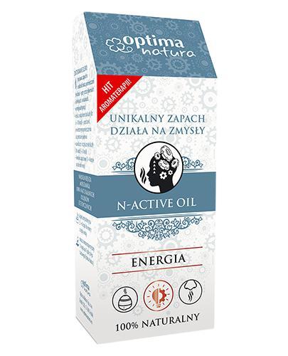 Optima Natura Olejek eteryczny N-Active Oil Energia, 20 ml, cena, opinie, właściwości - Apteka internetowa Melissa