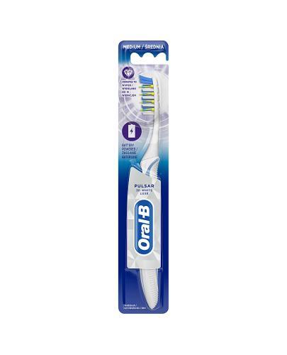 Oral-B Szczoteczka do zębów Pulsar 3D White Luxe Średnia - 1 szt. - cena, opinie, właściwości - Apteka internetowa Melissa