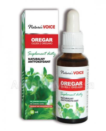 OREGAR Olejek z oregano - 30 ml - Drogeria Melissa