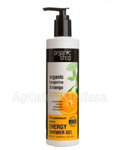 ORGANIC SHOP Energetyczny żel pod prysznic - 280 ml - Apteka internetowa Melissa