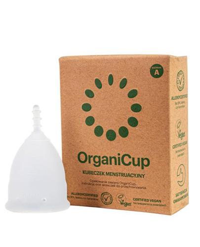 OrganiCup Kubeczek menstruacyjny rozmiar A - 1 szt. - cena, opinie, właściwości