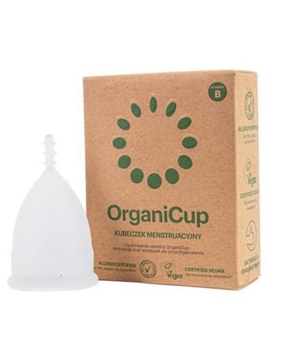 OrganiCup Kubeczek menstruacyjny rozmiar B - 1 szt. - cena, opinie, właściwości