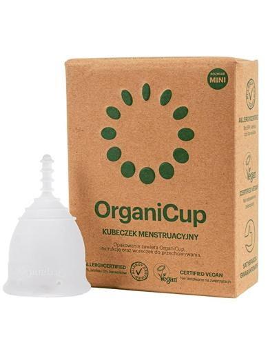 OrganiCup Kubeczek menstruacyjny rozmiar mini - 1 szt. - cena, opinie, właściwości