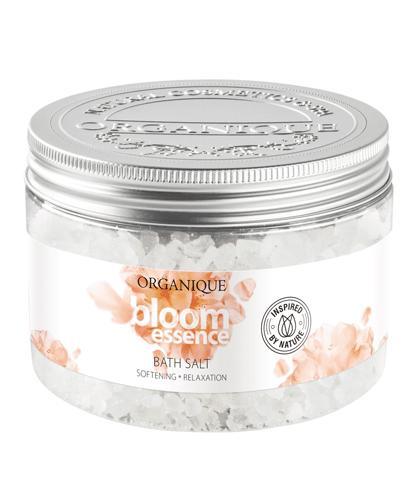 ORGANIQUE BLOOM ESSENCE Sól do kąpieli - 600 g - cena, opinie, właściwości