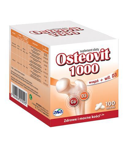 OSTEOVIT 1000 - 100 tabl.  - Drogeria Melissa