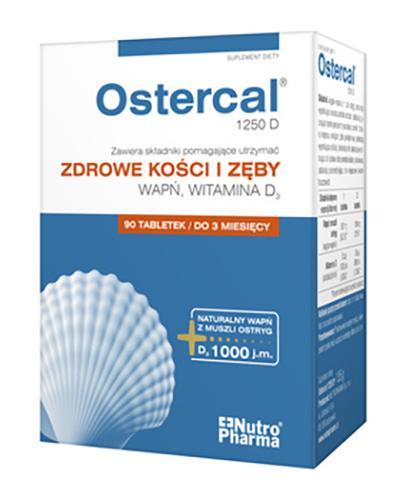 OSTERCAL 1250 D - 60 tabl. (blistry) - Drogeria Melissa