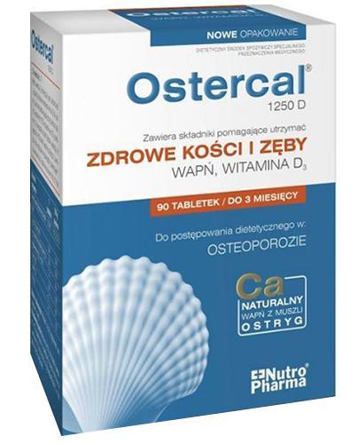 OSTERCAL 1250 D - 90 tabl. - Apteka internetowa Melissa