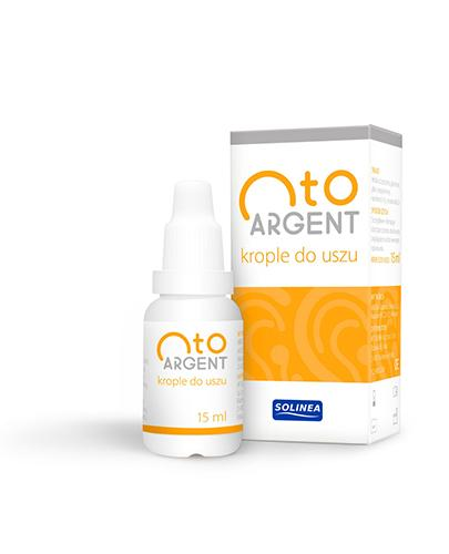 OTOARGENT Krople do uszu - 15 ml - Drogeria Melissa