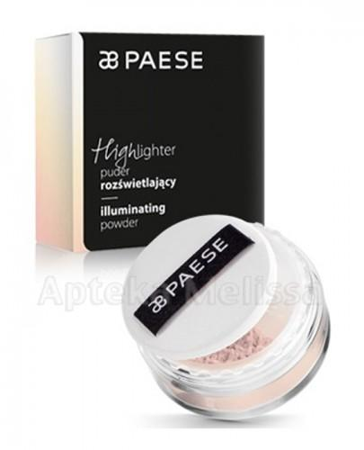 PAESE HIGHLIGHTER Puder rozświetlający 02 fresh pink - 15 g