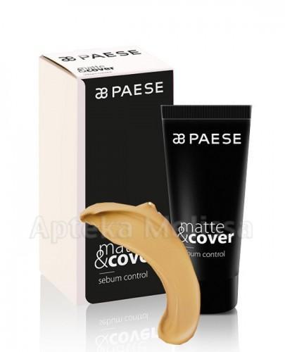 PAESE MATTE&COVER Podkład matująco-kryjący 203 złoty beż  - 30 ml