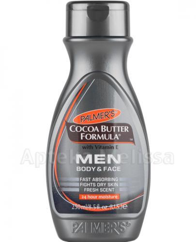PALMERS MEN Balsam nawilżający do pielęgnacji ciała i twarzy dla mężczyzn - 250 ml - Apteka internetowa Melissa