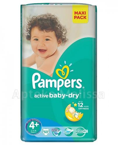 Pampers active baby 4 maxi plus 53 szt