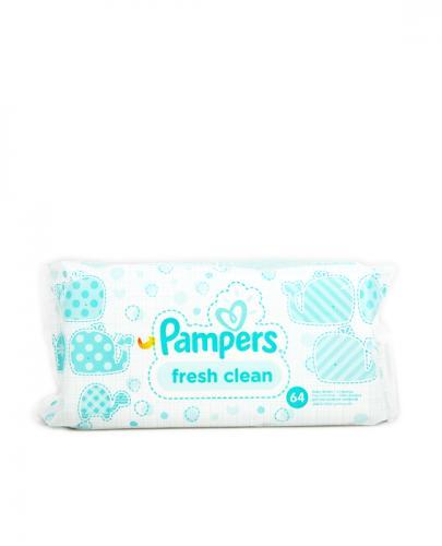 PAMPERS FRESH CLEAN Chusteczki pielęgnacyjne - 64 szt. - Apteka internetowa Melissa