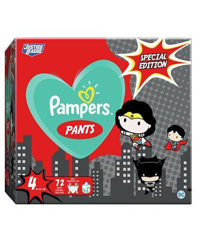 Pampers Pants 4 Pieluchy 9-15 kg Special Edition - 72 szt. - cena, opinie, stosowanie - Apteka internetowa Melissa