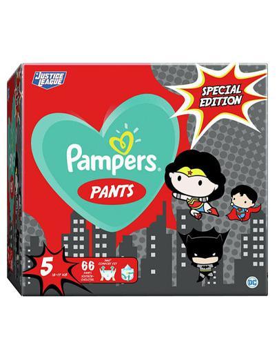 Pampers Pants 5 Pieluchy 12-17 kg Special Edition - 66 szt. - cena, opinie, właściwości - Drogeria Melissa