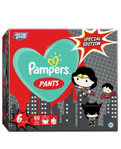 Pampers Pants 6 Pieluchy 15 + kg Special Edition - 60 szt. - cena, opinie, wskazania - Drogeria Melissa