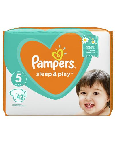 PAMPERS SLEEP&PLAY 5 JUNIOR 11-18 kg Pieluchy - 42 szt. - Apteka internetowa Melissa
