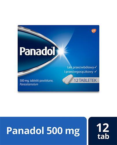 PANADOL Lek przecwibólowy - 12 tabl. - Apteka internetowa Melissa