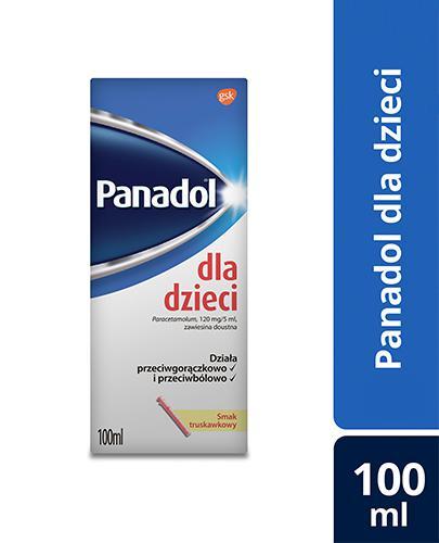 PANADOL DLA DZIECI Lek przeciwbólowy - 100 ml - Apteka internetowa Melissa