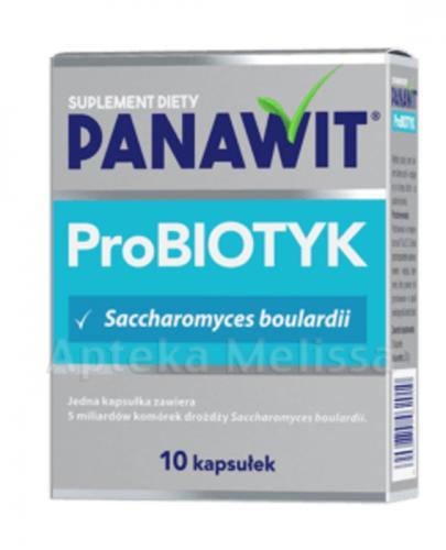 PANAWIT Probiotyk - 10 kaps. Data ważności: 2018.12.31 - Apteka internetowa Melissa