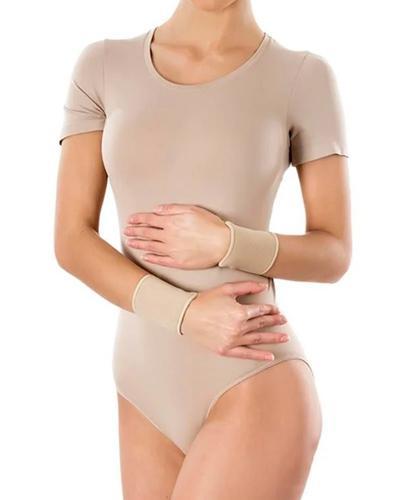 PANI TERESA Opaska elastyczna stawu nadgarstkowego krótka bezszwowa cielista M - 2 szt. - Apteka internetowa Melissa