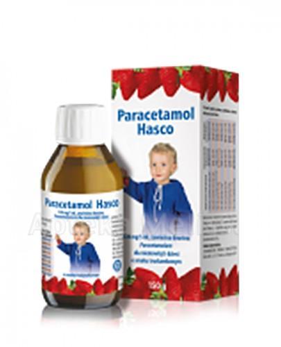 PARACETAMOL HASCO Zawiesina dla niemowląt i dzieci o smaku truskawkowym 120mg/5ml - 150 g - Apteka internetowa Melissa