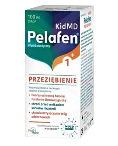 Pelafen Kid MD 1+ Przeziębienie - 100 ml - cena, opinie, wskazania - Apteka internetowa Melissa