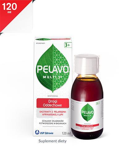 PELAVO MULTI 3+ Syrop - 120 ml
