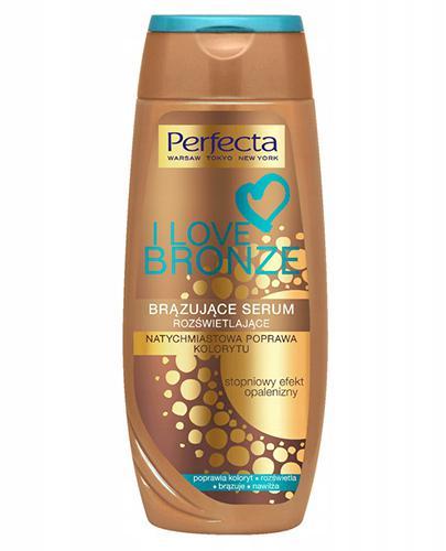 Perfecta I Love Bronze Brązujące serum rozświetlające - 250 ml - cena, opinie, skład - Drogeria Melissa