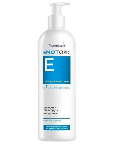 PHARMACERIS  EMOTOPIC Kremowy żel pod prysznic - 400 ml