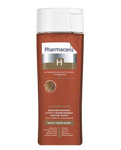 PHARMACERIS H KERATINEUM Skoncentrowany szampon wzmacniający do włosów osłabionych - 250 ml - Apteka internetowa Melissa