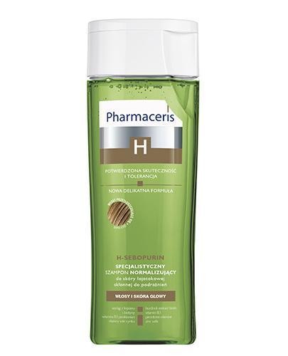 PHARMACERIS H SEBOPURIN Specjalistyczny szampon normalizujący do skóry łojotokowej - 250 ml - Apteka internetowa Melissa