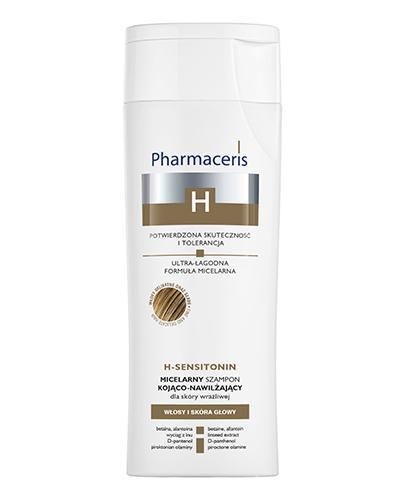 PHARMACERIS H SENSITONIN Micelarny szampon kojąco-nawilżający do skóry wrażliwej - 250 ml - Apteka internetowa Melissa