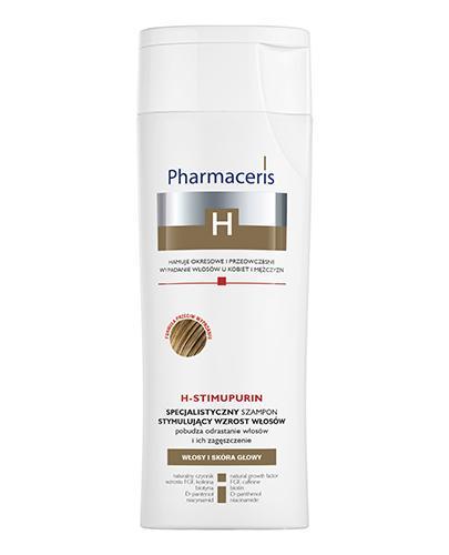 PHARMACERIS H STIMUPURIN Specjalistyczny szampon stymulujący wzrost włosów - 250 ml - Apteka internetowa Melissa