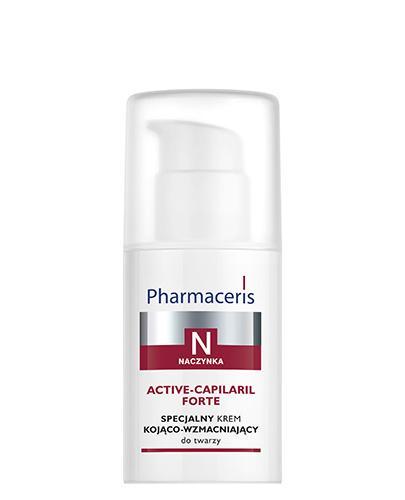 PHARMACERIS N ACTIV CAPILARIL Krem kojąco-wzmacniajacy do twarzy - 30 ml  - Drogeria Melissa