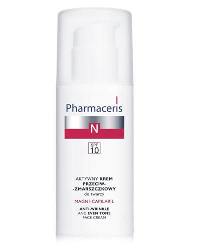 PHARMACERIS N MAGNI CAPILARIL Aktywny krem przeciwzmarszczkowy do twarzy - 50 ml - Apteka internetowa Melissa