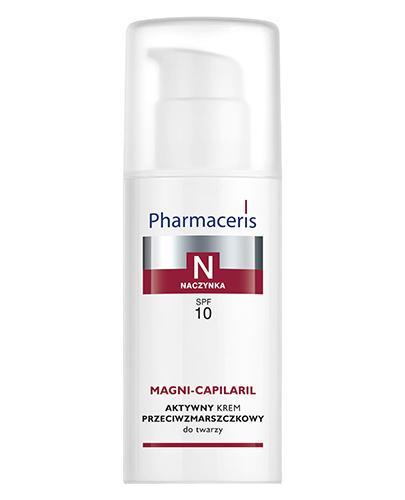 PHARMACERIS N MAGNI CAPILARIL Aktywny krem przeciwzmarszczkowy do twarzy - 50 ml - Drogeria Melissa