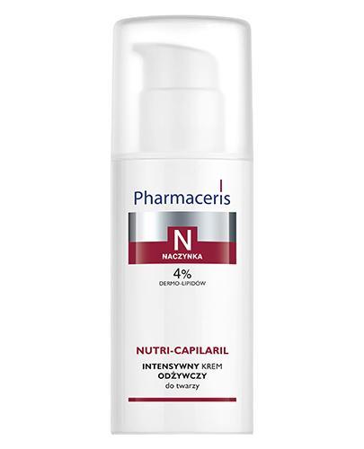 PHARMACERIS N NUTRI CAPILARIL Intensywny krem odżywczy do twarzy - 50 ml - Drogeria Melissa