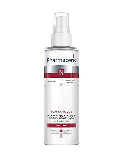 Pharmaceris N Puri-Capilique Delikatny tonik-mgiełka wzmacniający naczynka - 200 ml Do skóry naczynkowej - cena, opinie, stosowanie