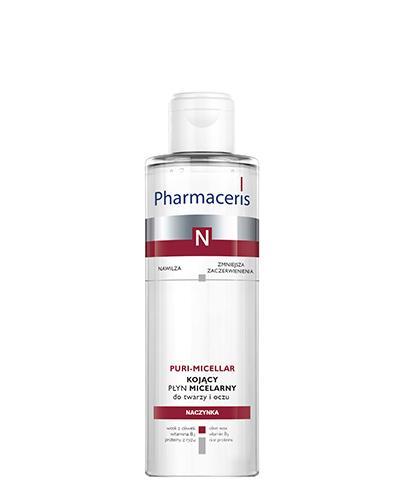 PHARMACERIS N PURI-MICELLAR Płyn micelarny do delikatnego oczyszczania i demakijażu twarzy i oczu - 200 ml - Apteka internetowa Melissa